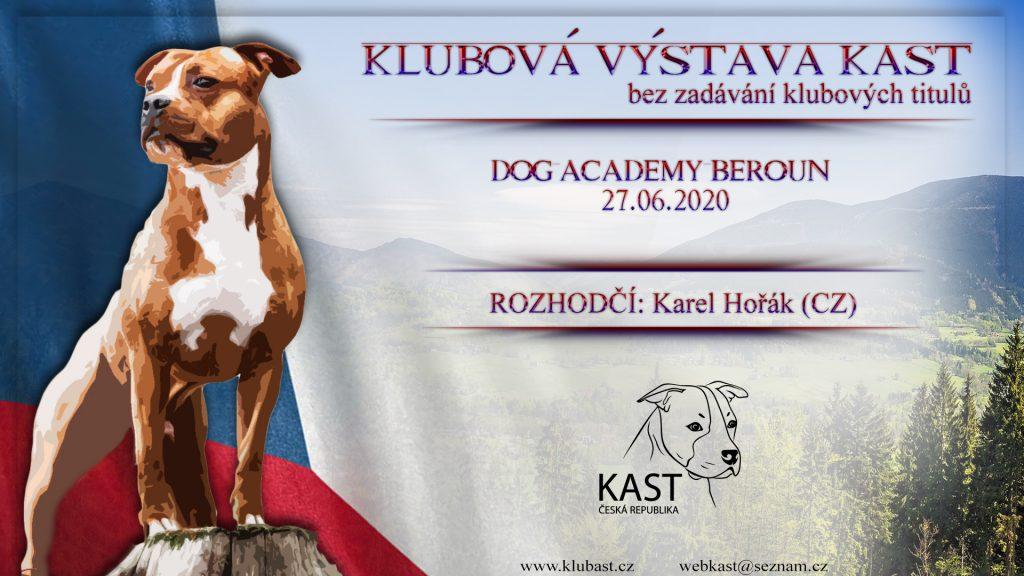 Klubová výstava bez KV – 27.06.2020